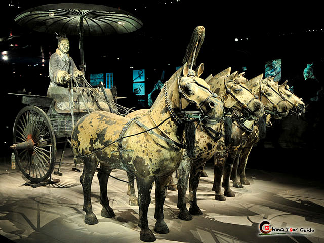 Bronze Chariots and Horses