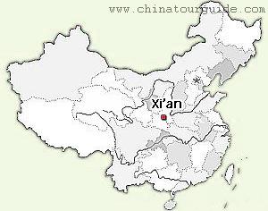 xian in china map Xian Maps Maps Of Xian From Chinatourguide xian in china map