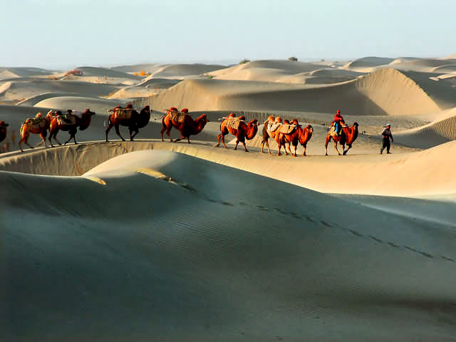 Wonderful 34 Caravans On The Silk Road