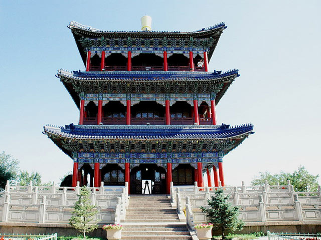 Red Hill Park Xinjiang Urumqi Red Hill Park Tour Red