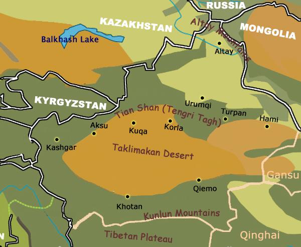 Map Xinjiang.Xinjiang China Xinjiang History Xinjiang Maps Xinjiang Transportation